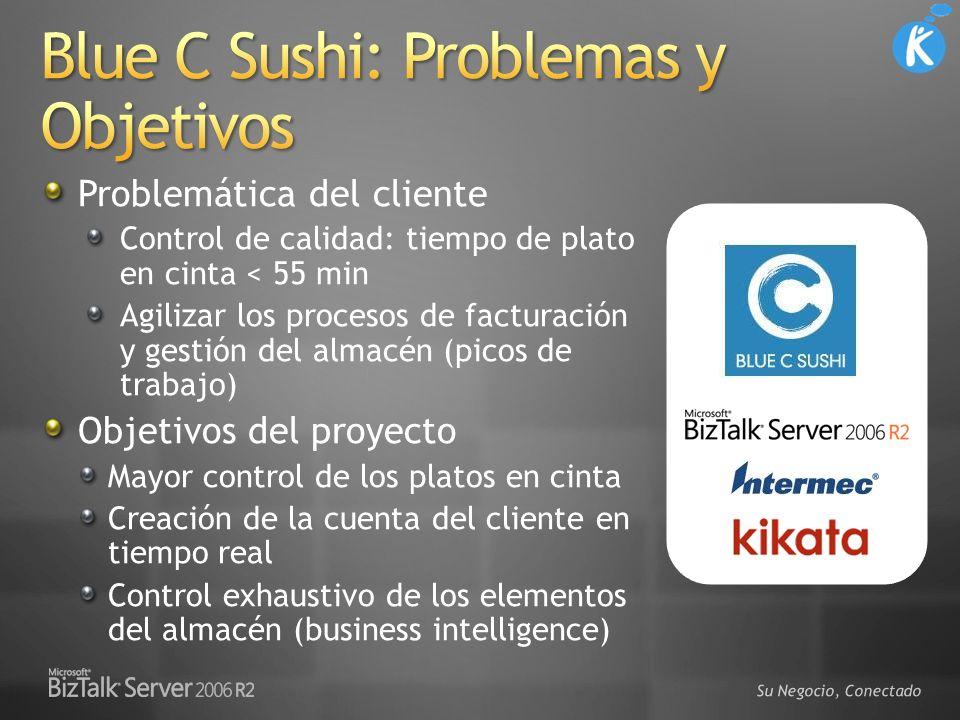 Blue C Sushi: Problemas y Objetivos