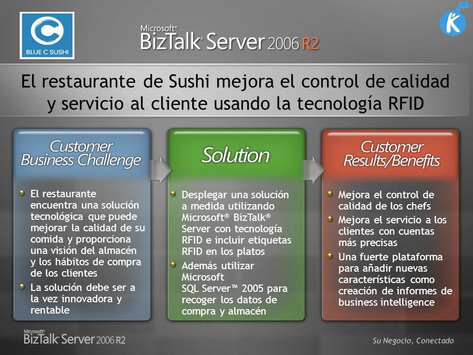 El restaurante de Sushi mejora el control de calidad y servicio al cliente usando la tecnología RFID
