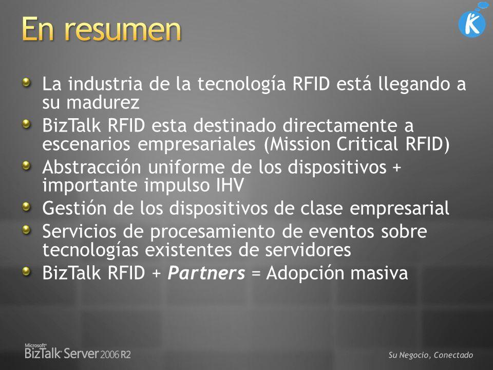 3/29/2017 5:22 PM En resumen. La industria de la tecnología RFID está llegando a su madurez.