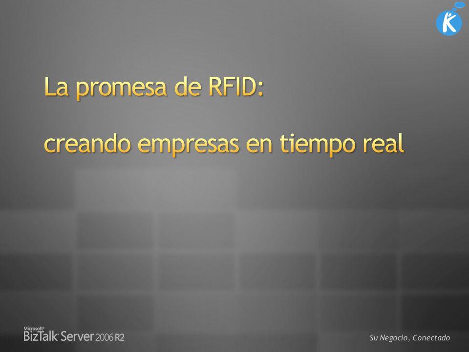 La promesa de RFID: creando empresas en tiempo real