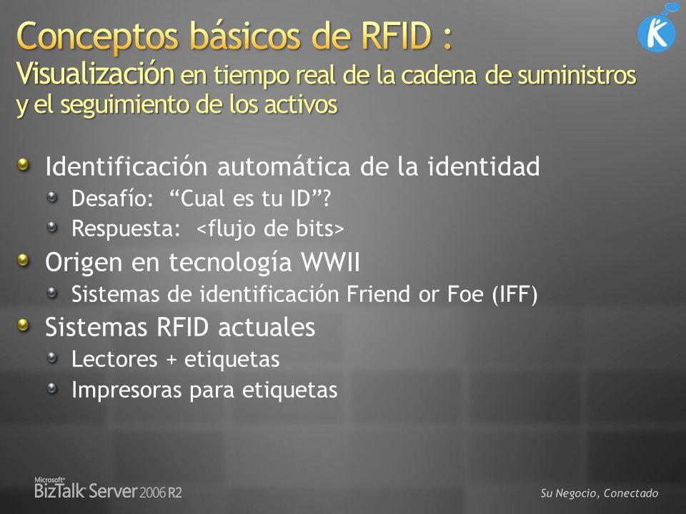 3/29/2017 5:22 PM Conceptos básicos de RFID : Visualización en tiempo real de la cadena de suministros y el seguimiento de los activos.