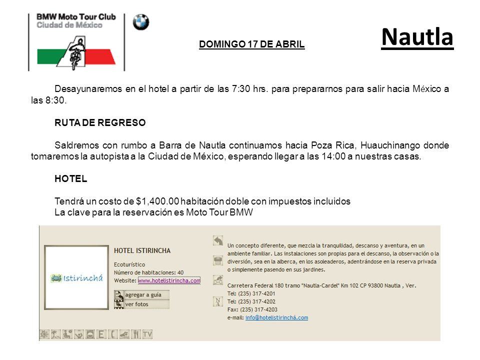 Nautla DOMINGO 17 DE ABRIL