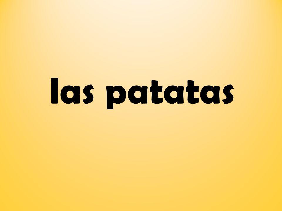 las patatas