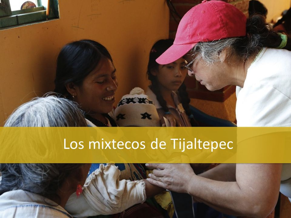 Los mixtecos de Tijaltepec