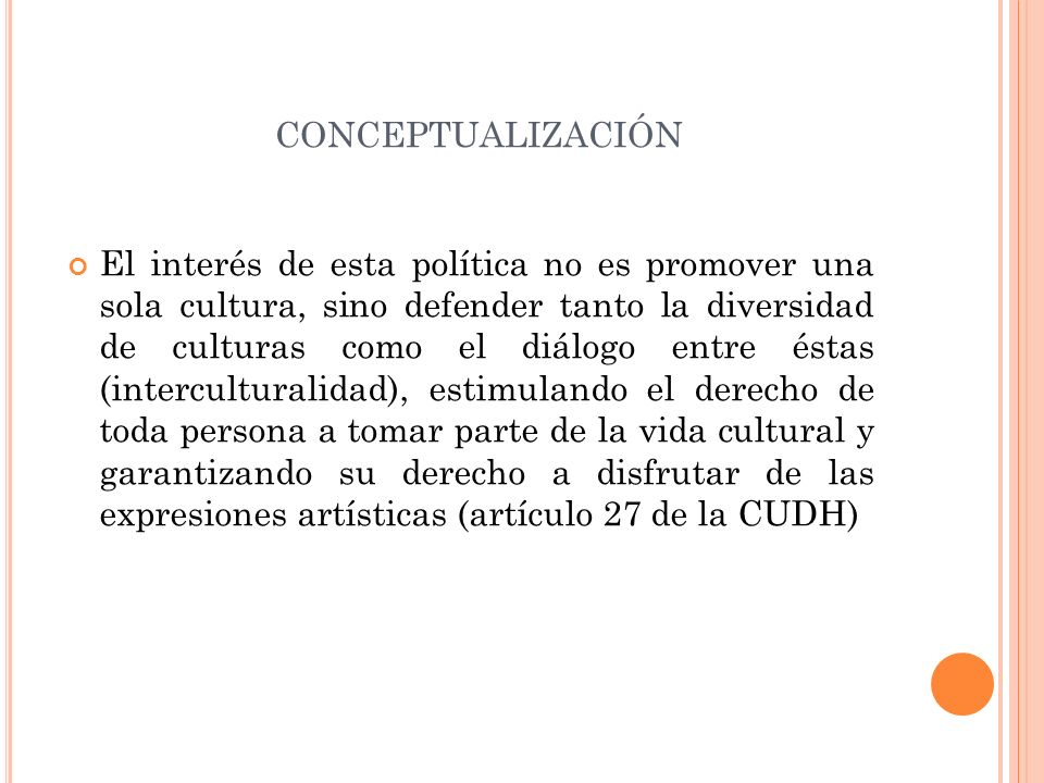 conceptualización