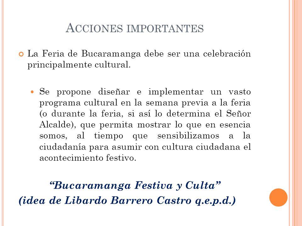 Bucaramanga Festiva y Culta