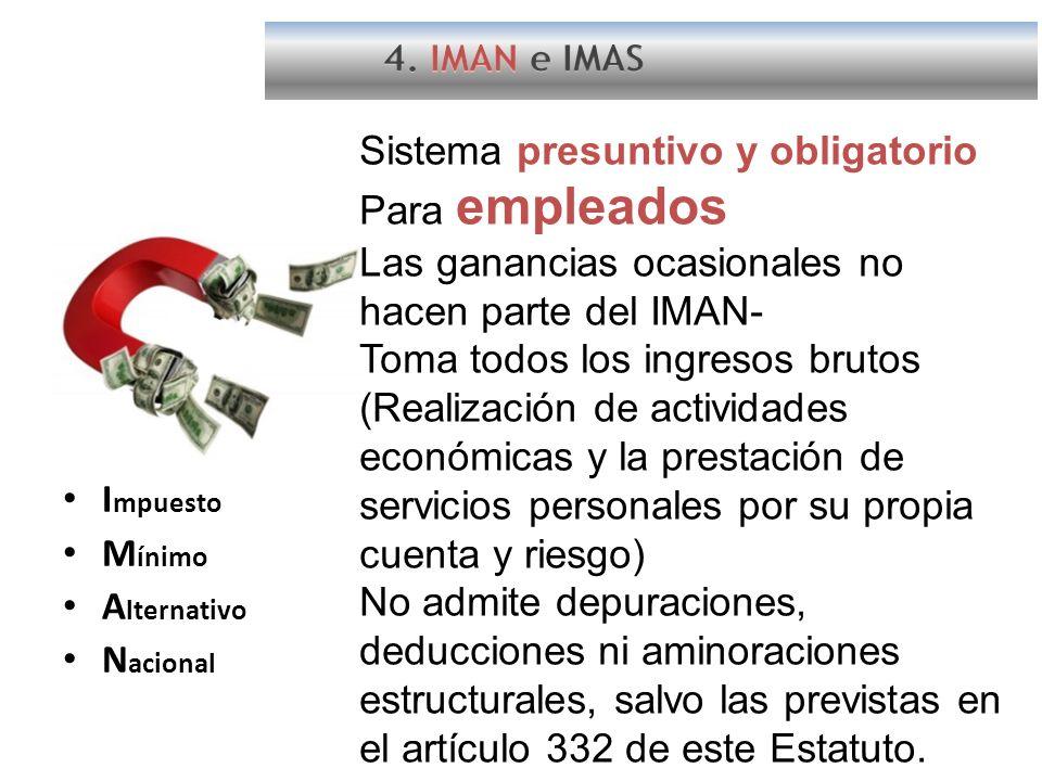 Sistema presuntivo y obligatorio Para empleados