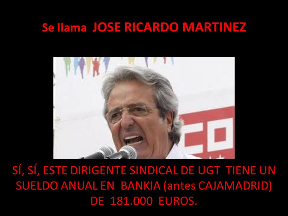 Se llama JOSE RICARDO MARTINEZ