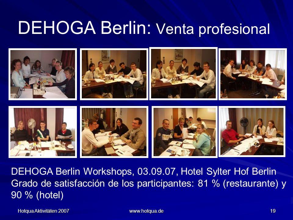 DEHOGA Berlin: Venta profesional