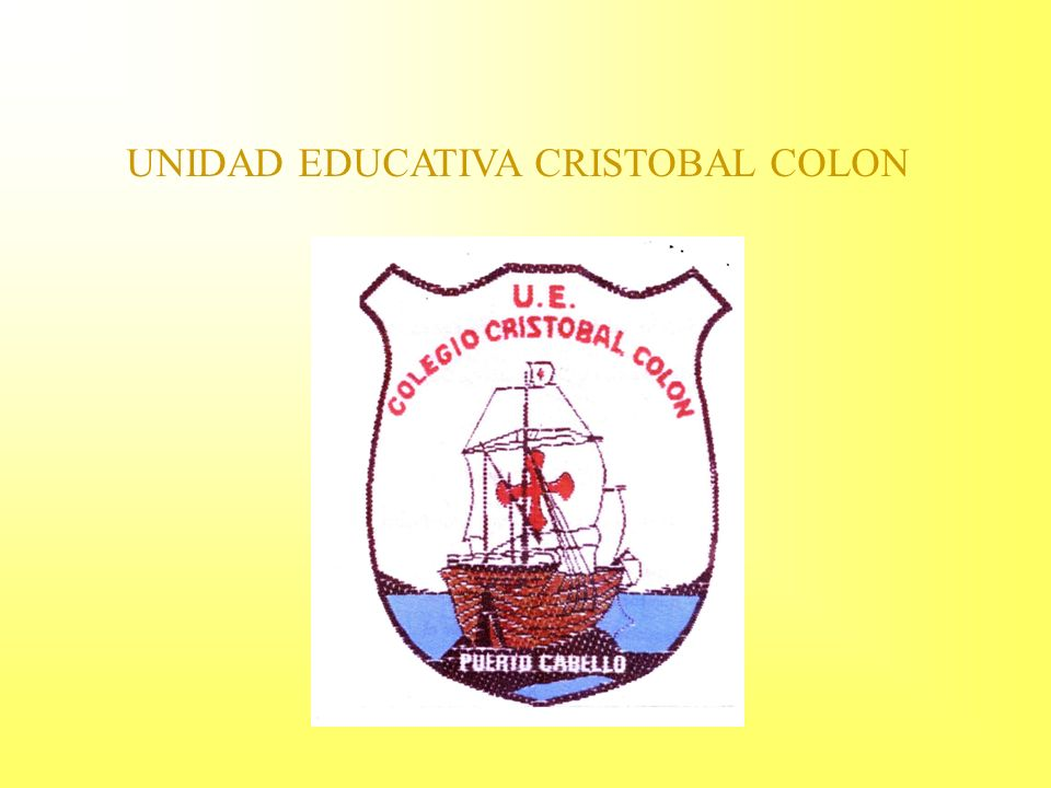 UNIDAD EDUCATIVA CRISTOBAL COLON