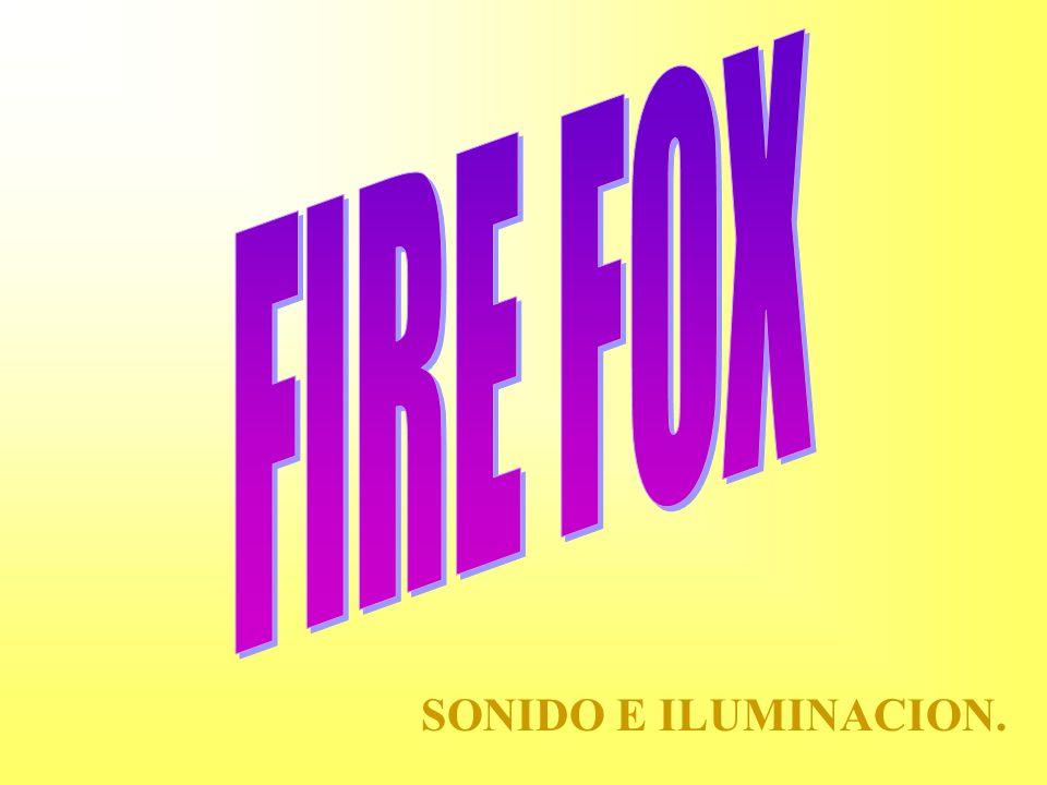 FIRE FOX SONIDO E ILUMINACION.