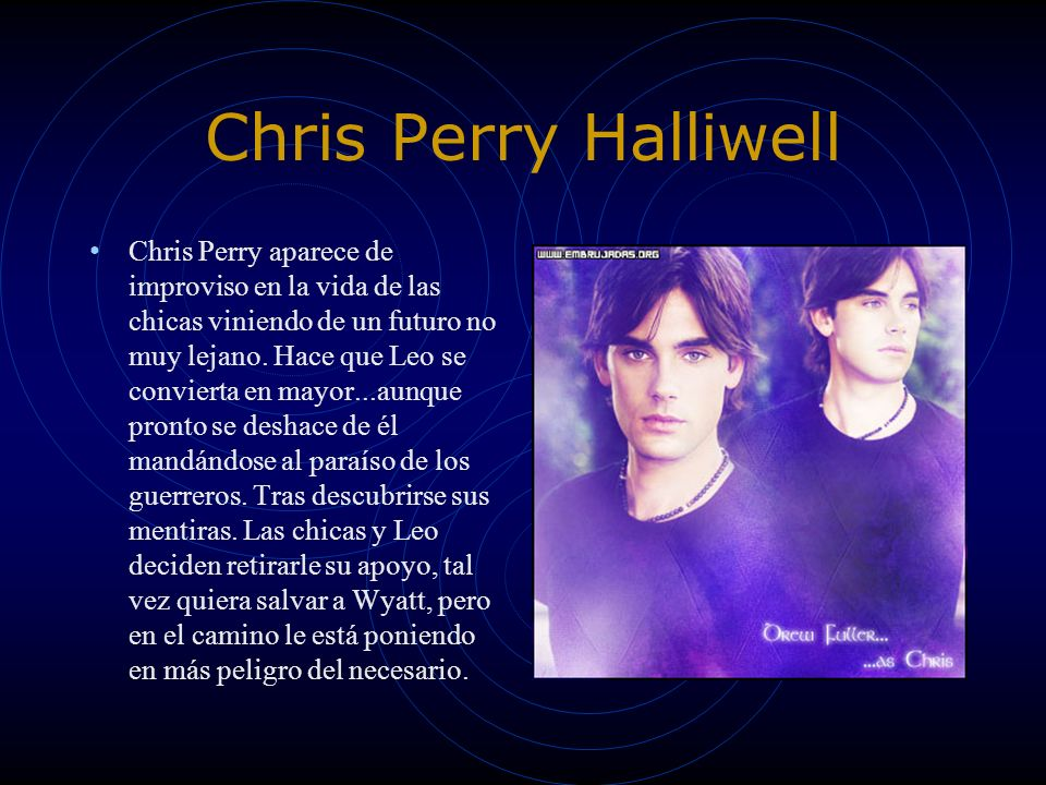 Chris Perry Halliwell