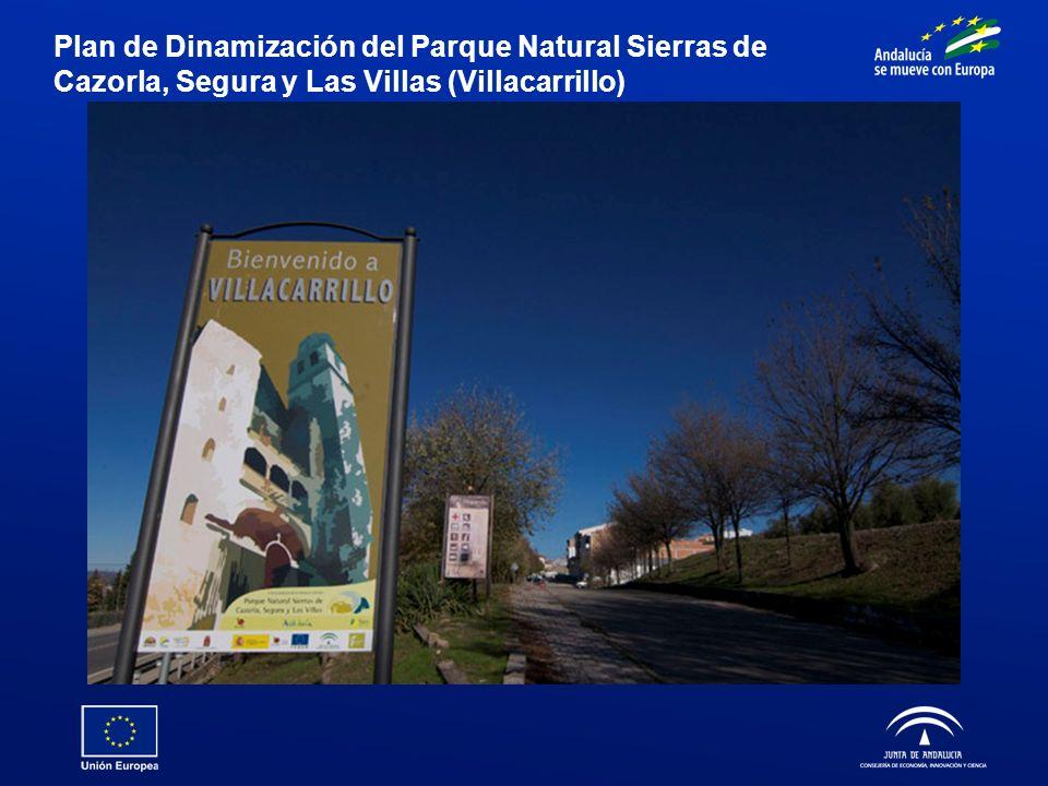 Plan de Dinamización del Parque Natural Sierras de Cazorla, Segura y Las Villas (Villacarrillo)