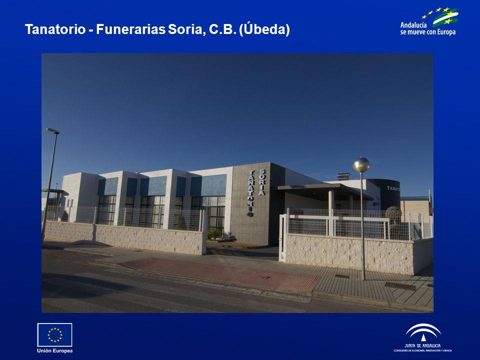 Tanatorio - Funerarias Soria, C.B. (Úbeda)