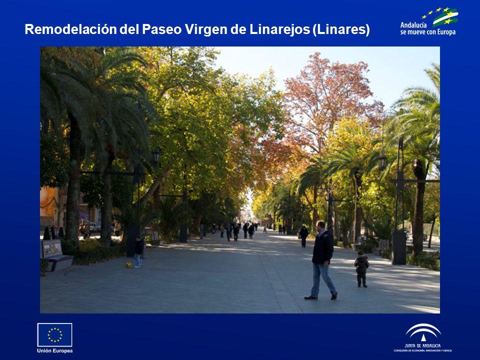 Remodelación del Paseo Virgen de Linarejos (Linares)