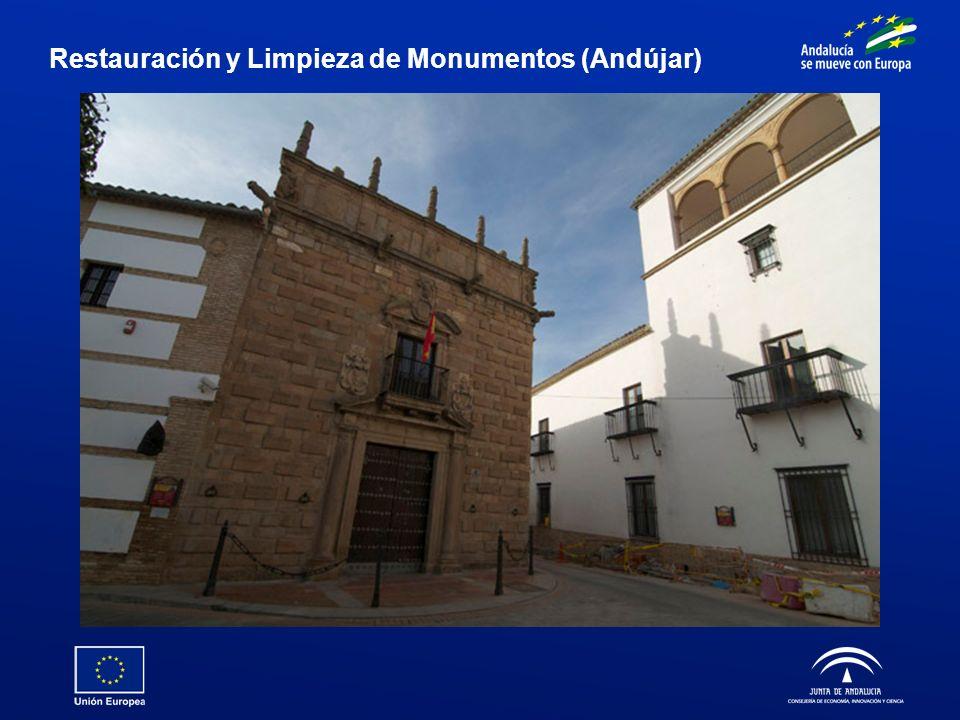 Restauración y Limpieza de Monumentos (Andújar)