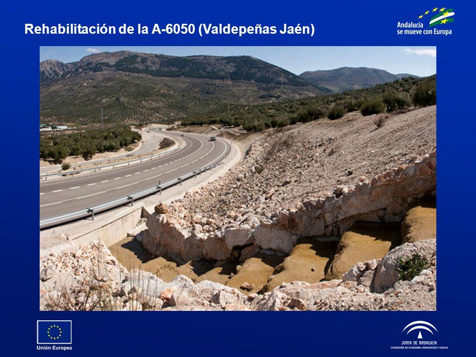Rehabilitación de la A-6050 (Valdepeñas Jaén)