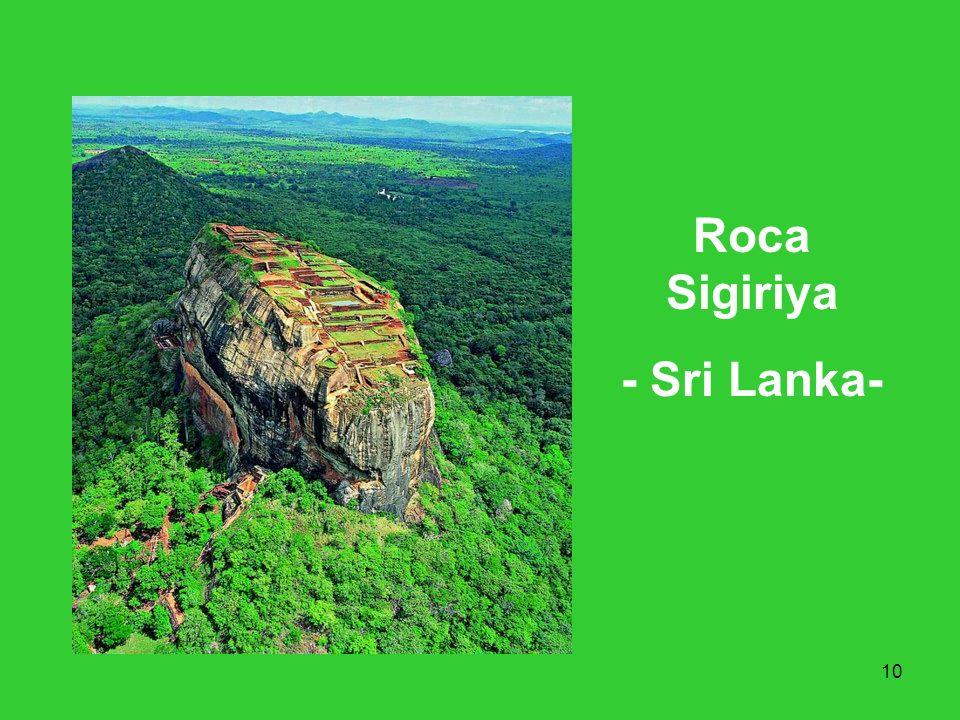 Roca Sigiriya - Sri Lanka-