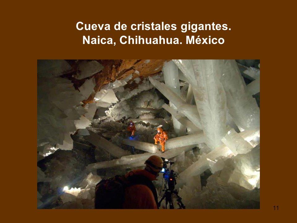 Cueva de cristales gigantes. Naica, Chihuahua. México