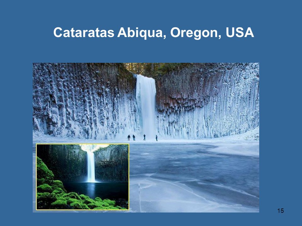 Cataratas Abiqua, Oregon, USA