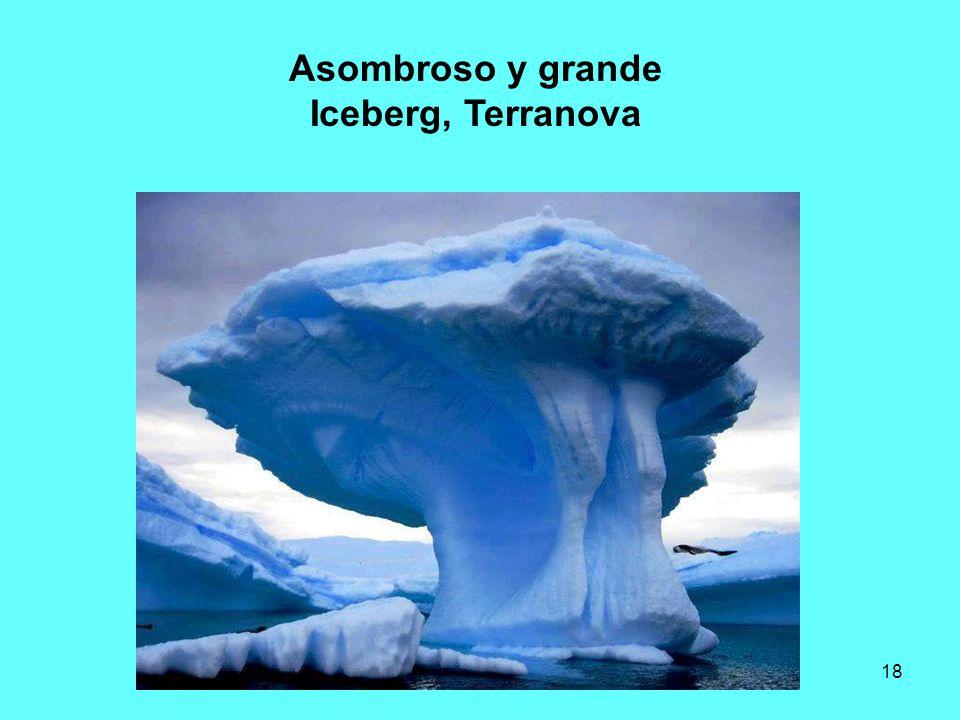 Asombroso y grande Iceberg, Terranova