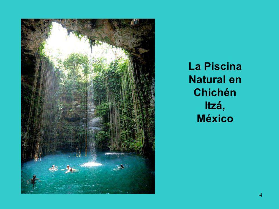 La Piscina Natural en Chichén Itzá, México