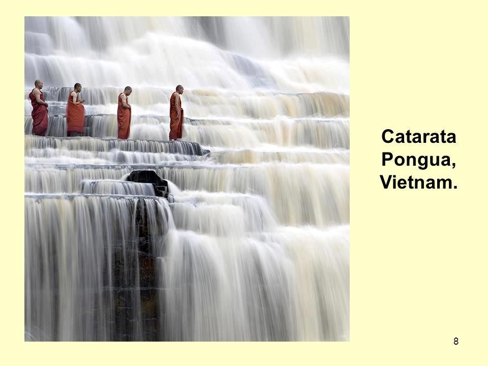 Catarata Pongua, Vietnam.