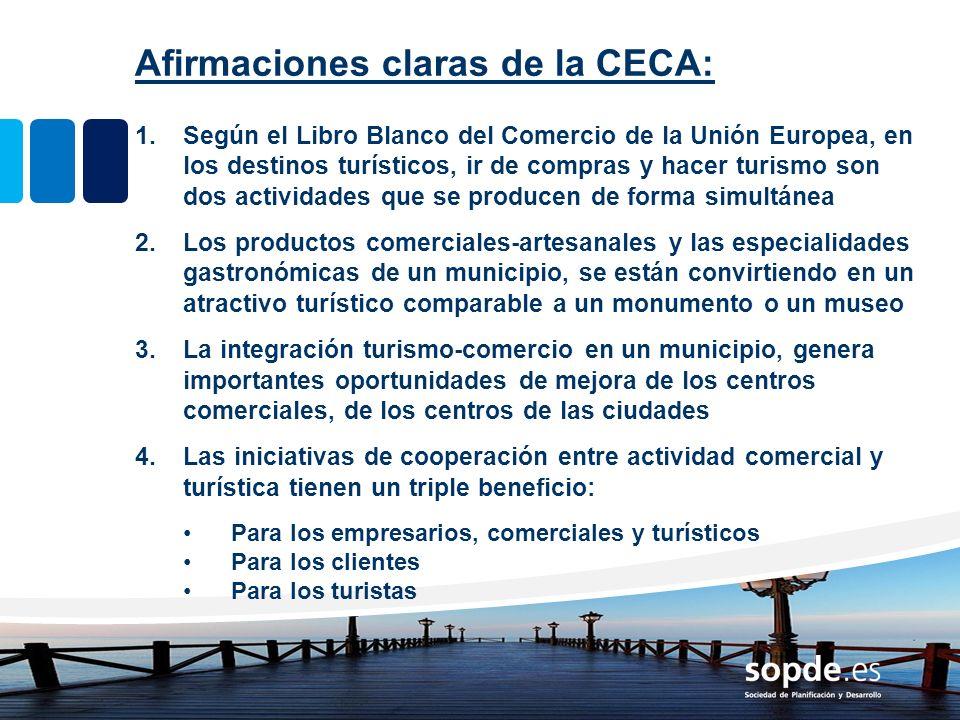 Afirmaciones claras de la CECA: