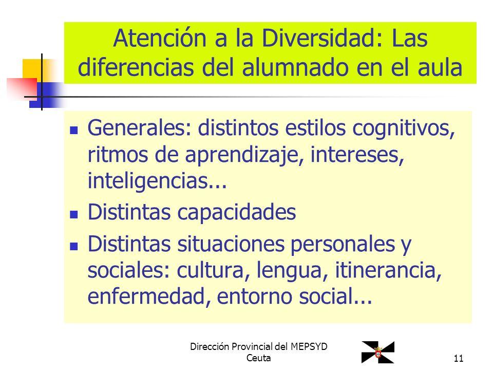 Atención a la Diversidad: Las diferencias del alumnado en el aula