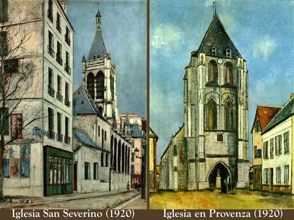 Iglesia San Severino (1920) Iglesia en Provenza (1920)