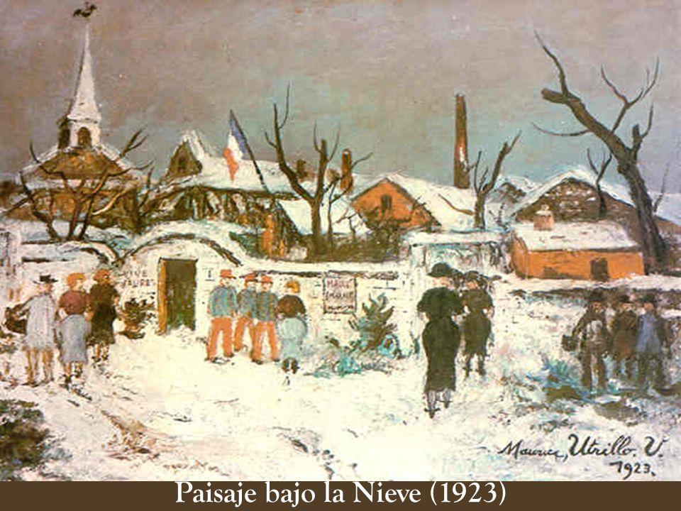 Paisaje bajo la Nieve (1923)