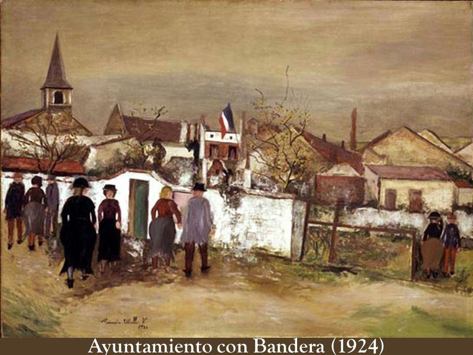 Ayuntamiento con Bandera (1924)