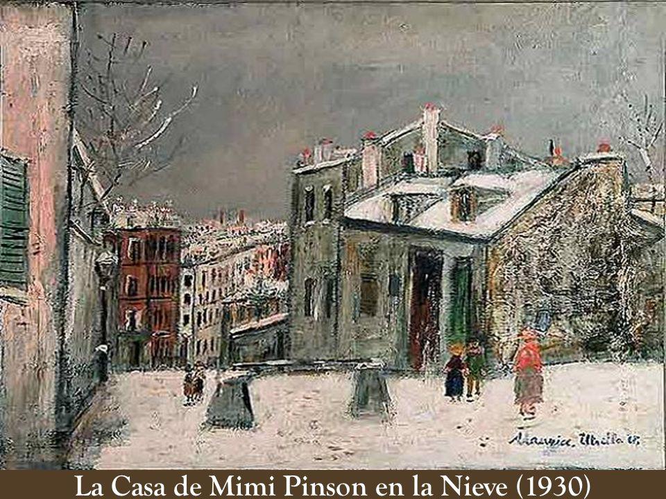 La Casa de Mimi Pinson en la Nieve (1930)