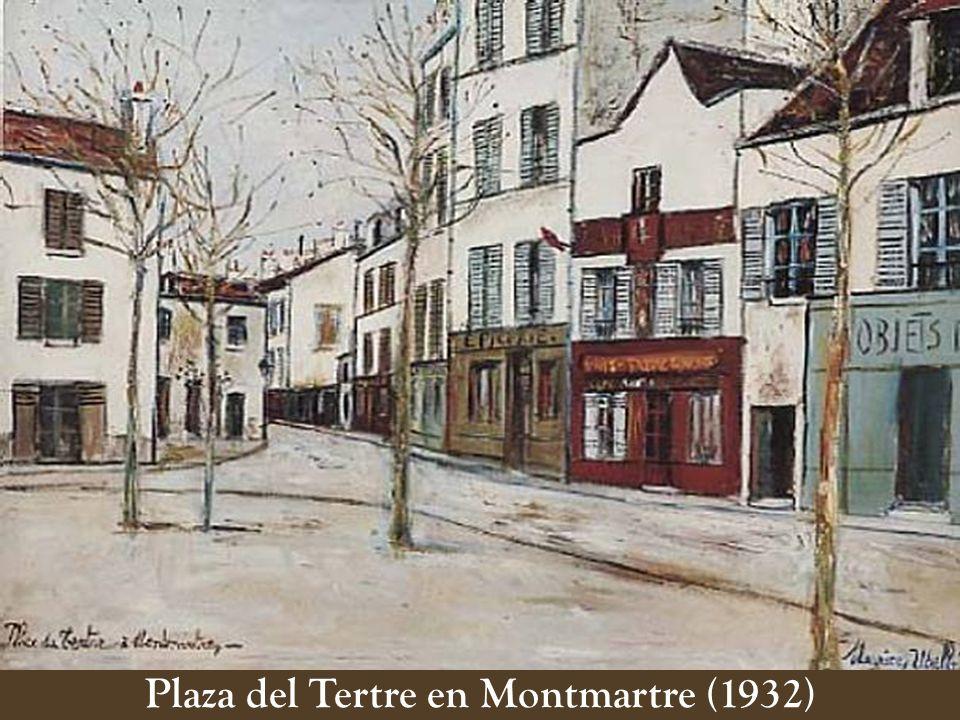 Plaza del Tertre en Montmartre (1932)