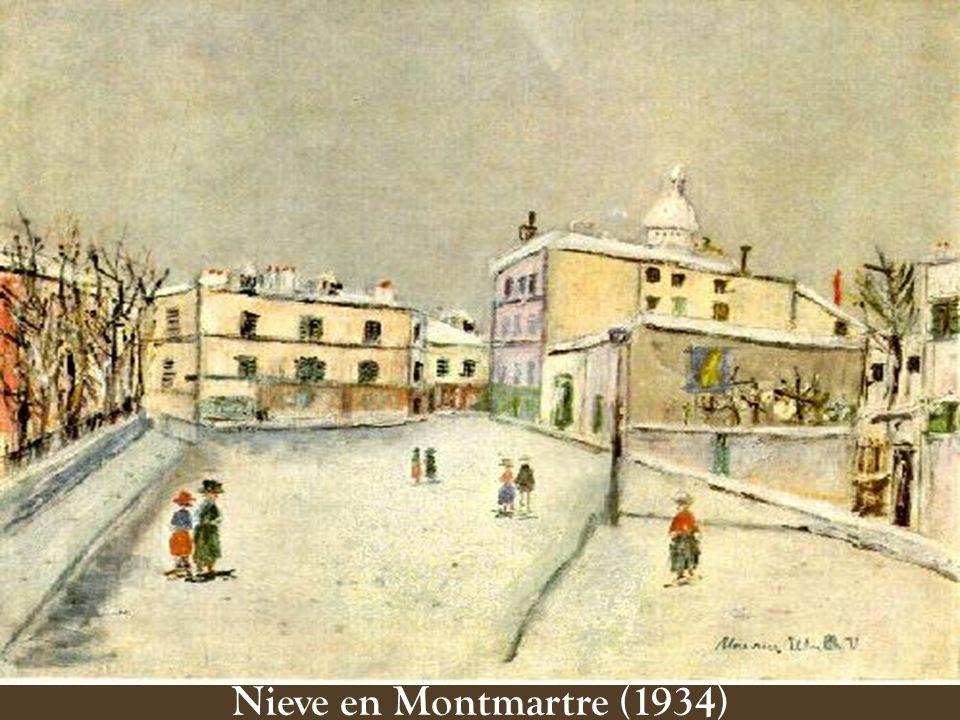 Nieve en Montmartre (1934)