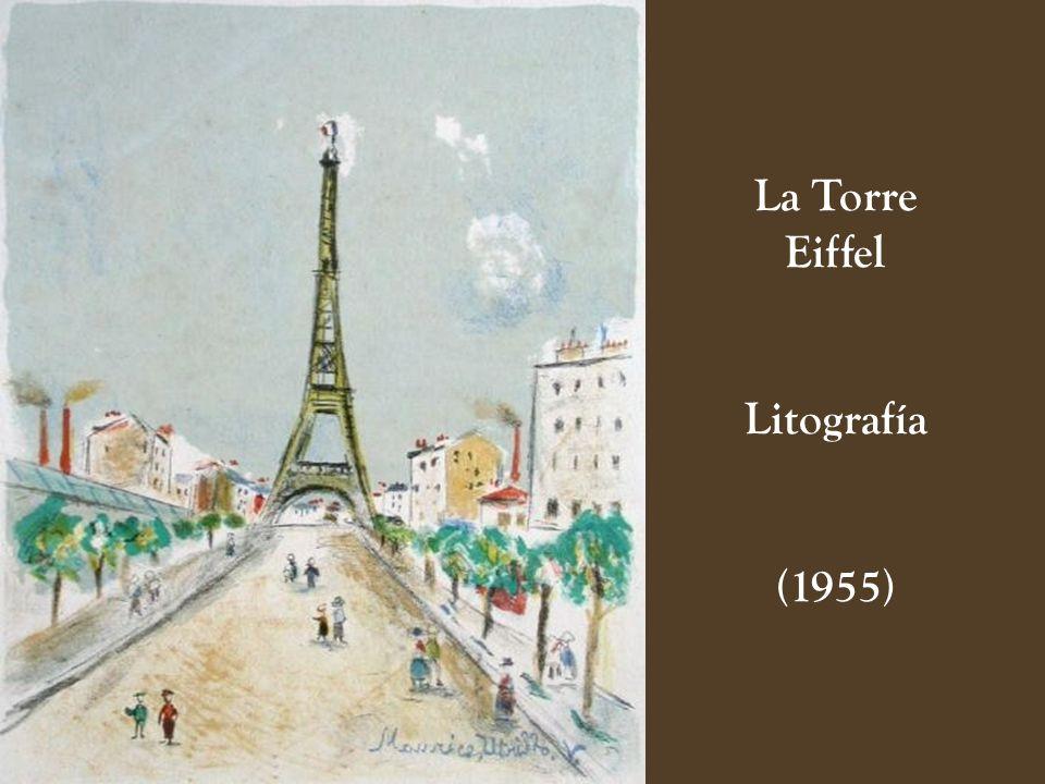 La Torre Eiffel Litografía (1955)