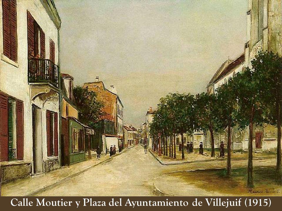 Calle Moutier y Plaza del Ayuntamiento de Villejuif (1915)