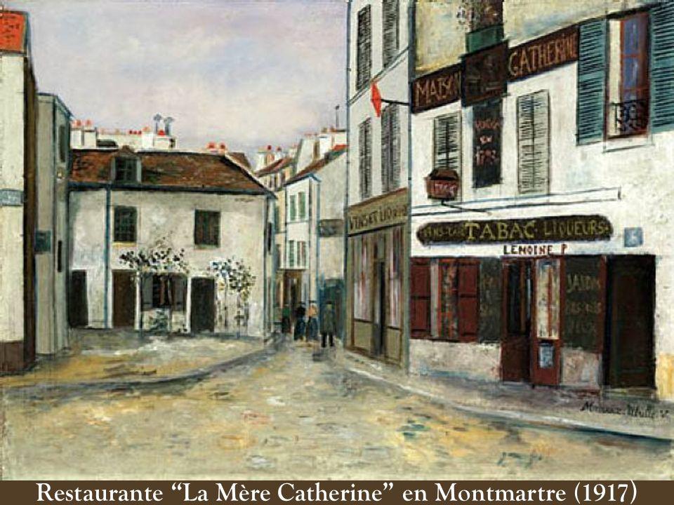Restaurante La Mère Catherine en Montmartre (1917)