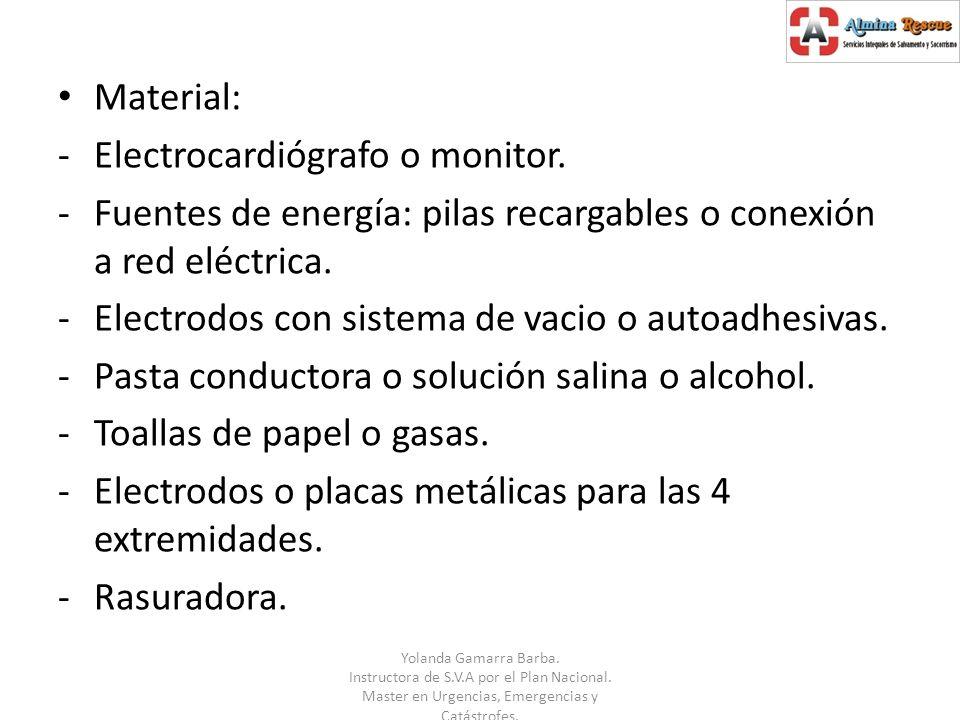 Electrocardiógrafo o monitor.