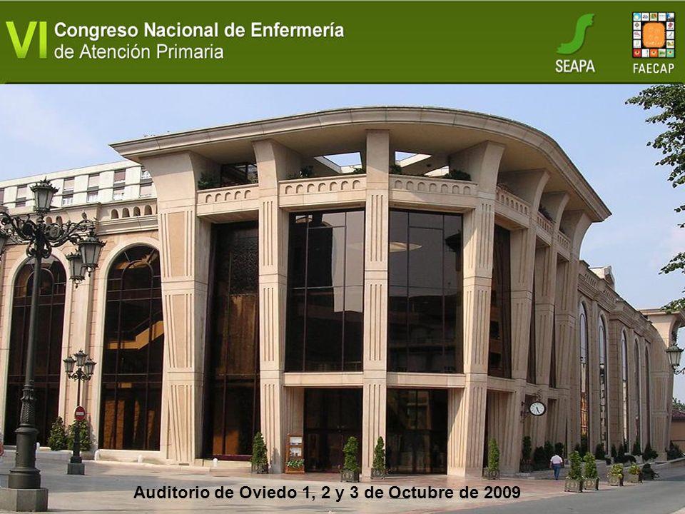 Auditorio de Oviedo 1, 2 y 3 de Octubre de 2009