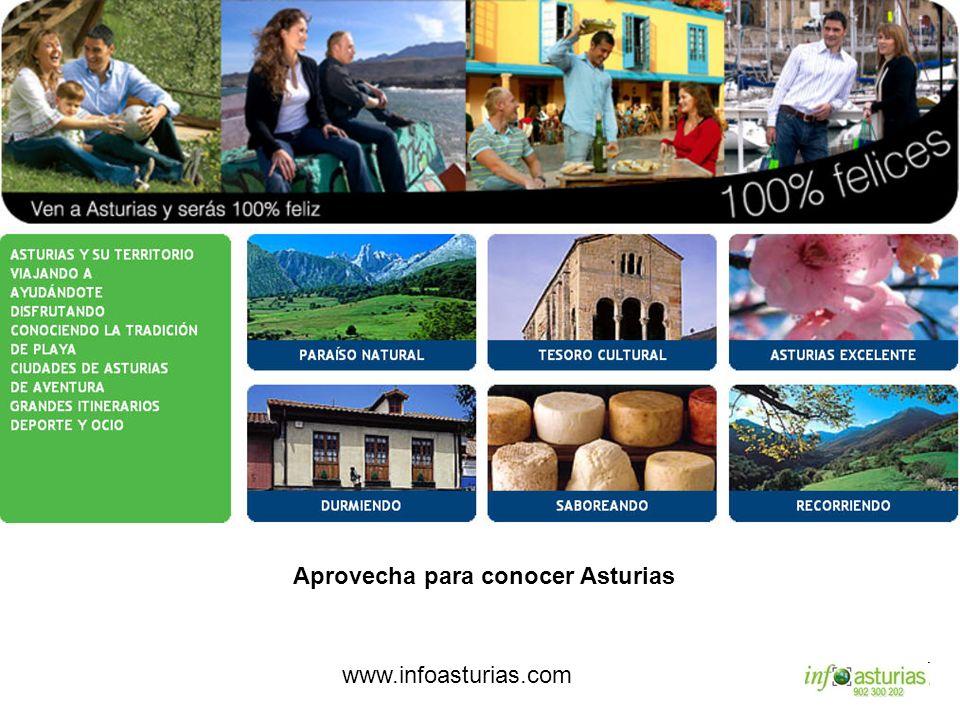 Aprovecha para conocer Asturias