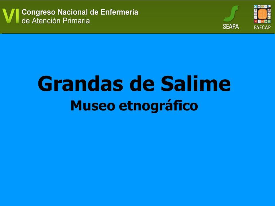 Grandas de Salime Museo etnográfico