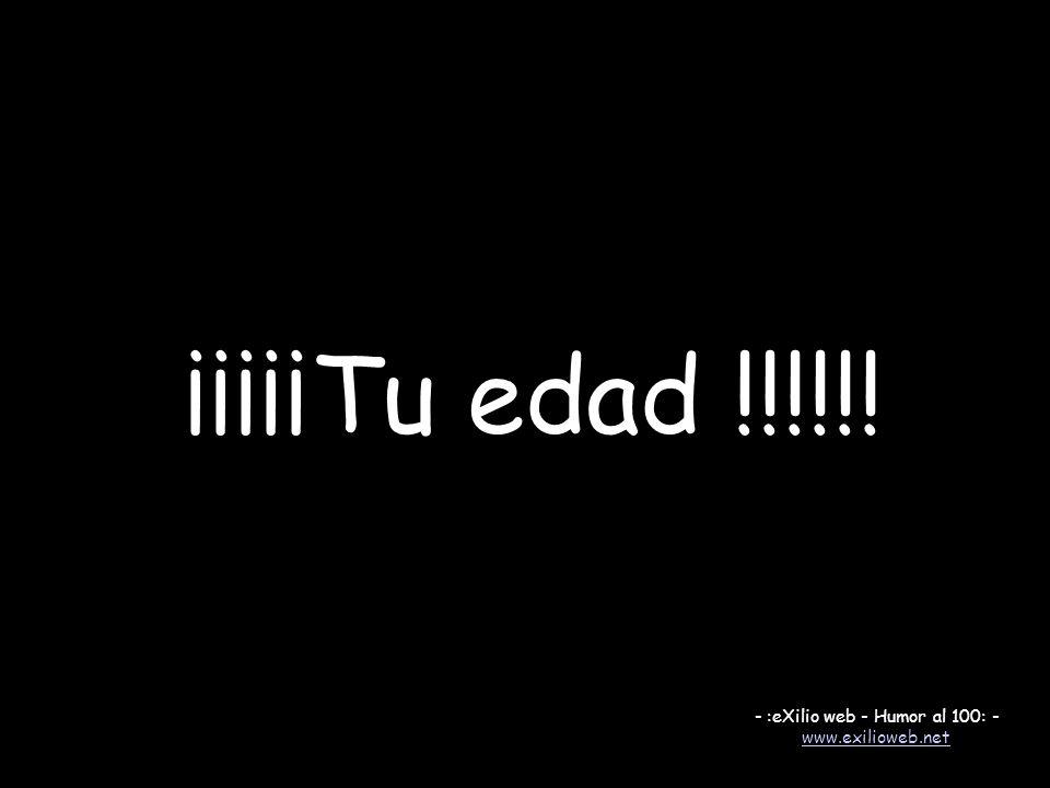 - :eXilio web - Humor al 100: -