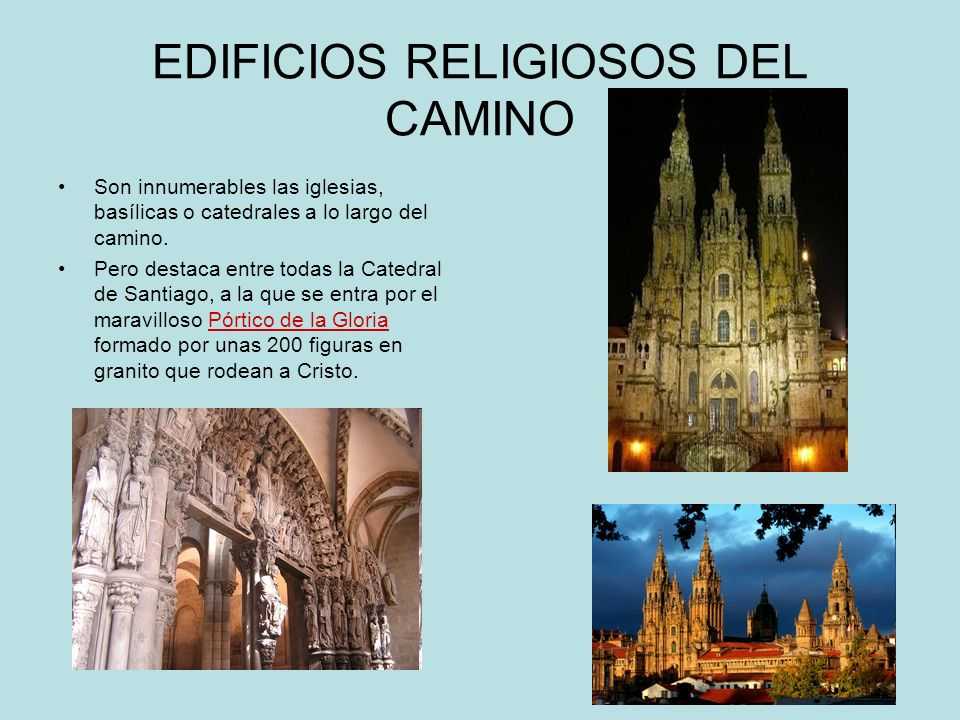 EDIFICIOS RELIGIOSOS DEL CAMINO
