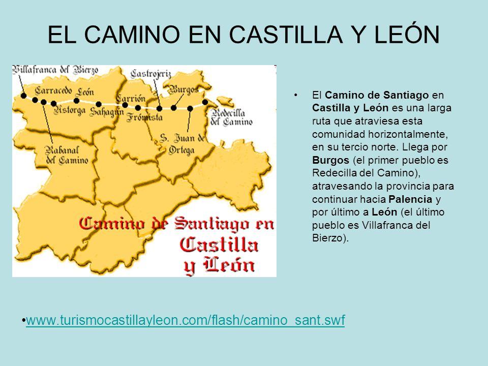 EL CAMINO EN CASTILLA Y LEÓN