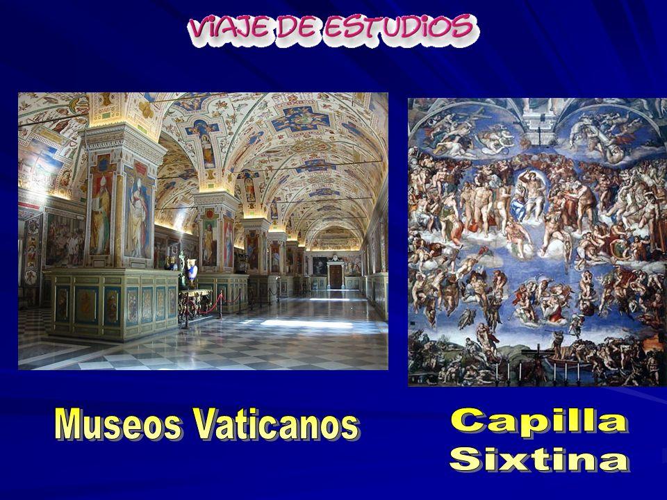 Museos Vaticanos Capilla Sixtina