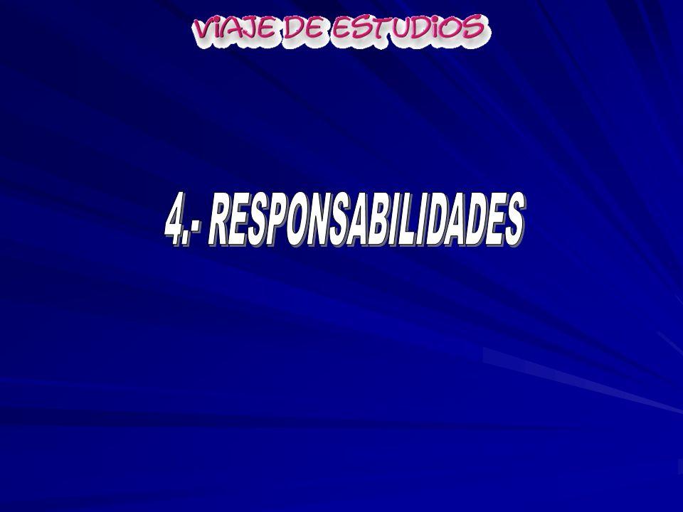 4.- RESPONSABILIDADES