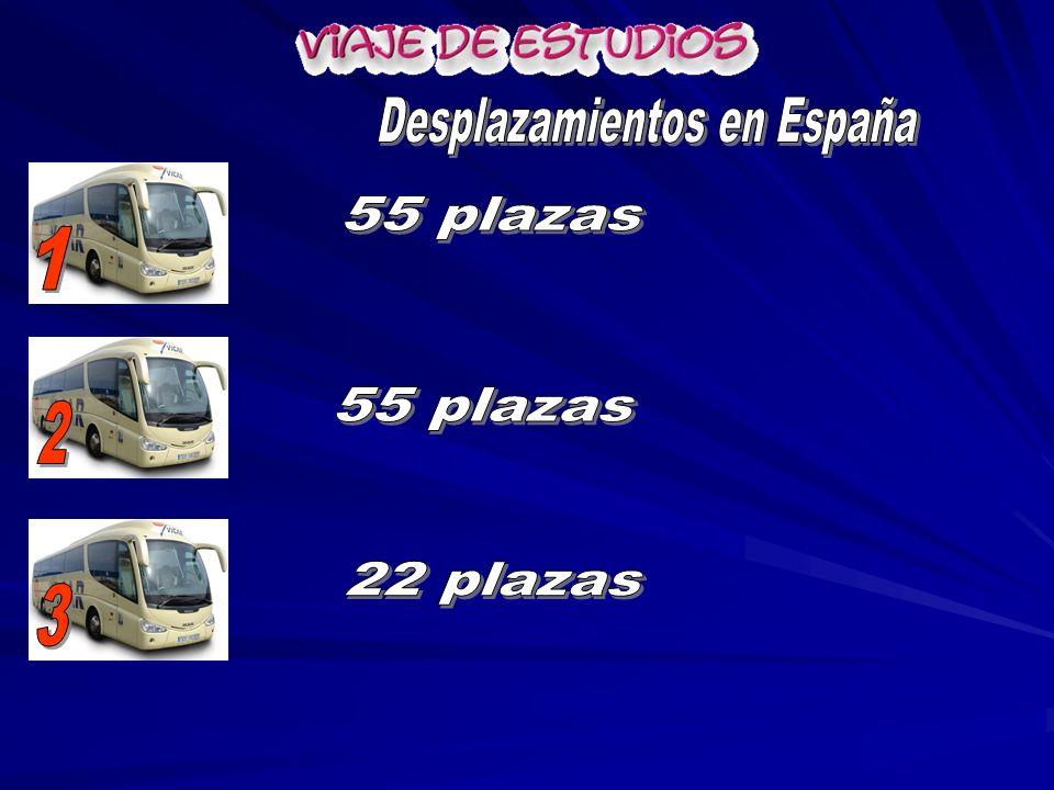 Desplazamientos en España