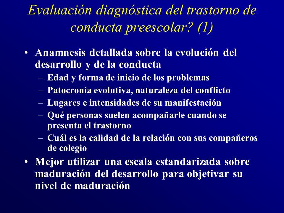 Evaluación diagnóstica del trastorno de conducta preescolar (1)