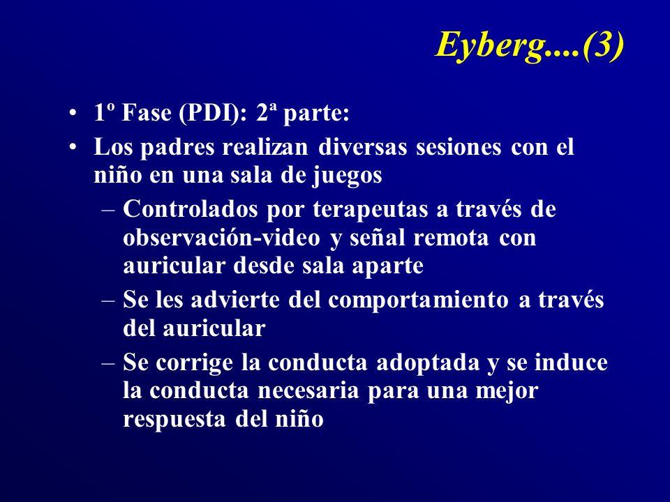 Eyberg....(3) 1º Fase (PDI): 2ª parte: